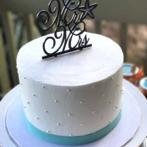 Smooth Buttercream with Pearls