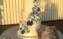 Blue Sugar Flower Cascade