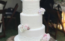 Buttercream Lace Piping