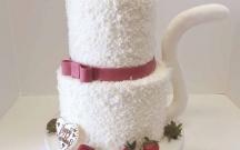 Cat Wedding Cake
