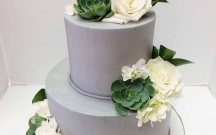 Clean Gray Buttercream