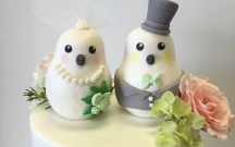 Custom Bird Cake Toppers
