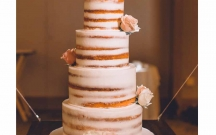 Guava Naked Cake