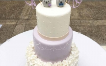 Lavender Ruffle Cake