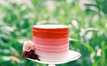 Red Ombre Buttercream