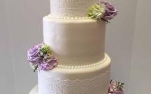 Sugar Lace Wedding Cake