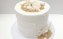 White Ocean Cake