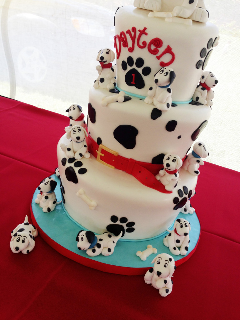 Dalmatian Cake Topper